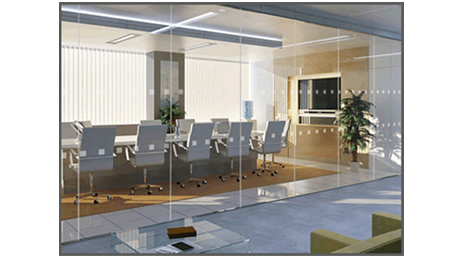 glass walls can be easily included in an Ashworth office furniture fit-out