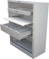 Aus File Tambour Cupboards: 900 wide